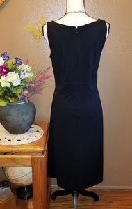 LOFT Dresses - PRETTY LOFT BLACK DRESS